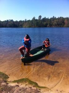 Isaiah Laronda canoe